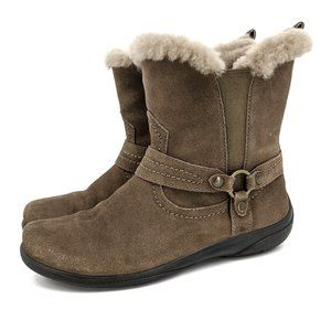 Abeo Footwear PRO Zoey Taupe Suede Winter Boots